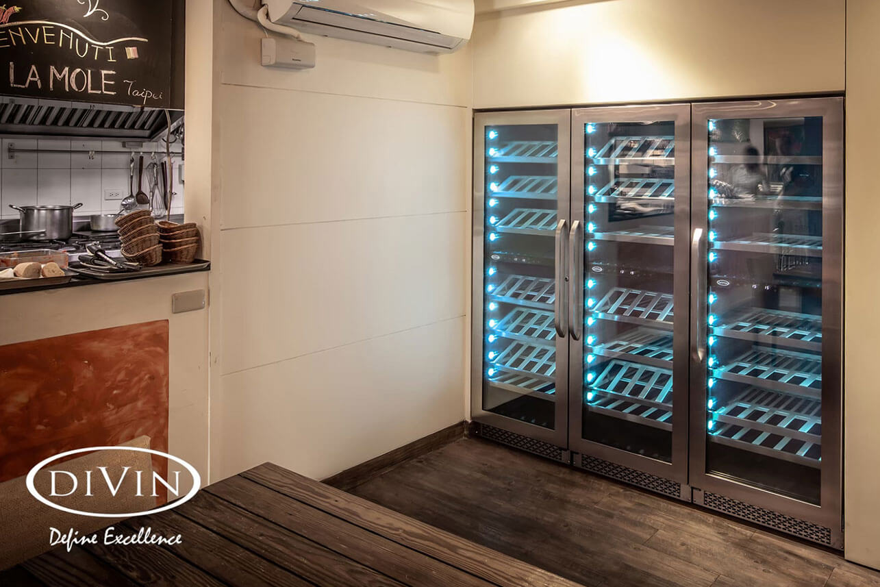 Taipei: La Mole (DV-568DSD Dual Zone Wine Fridge)